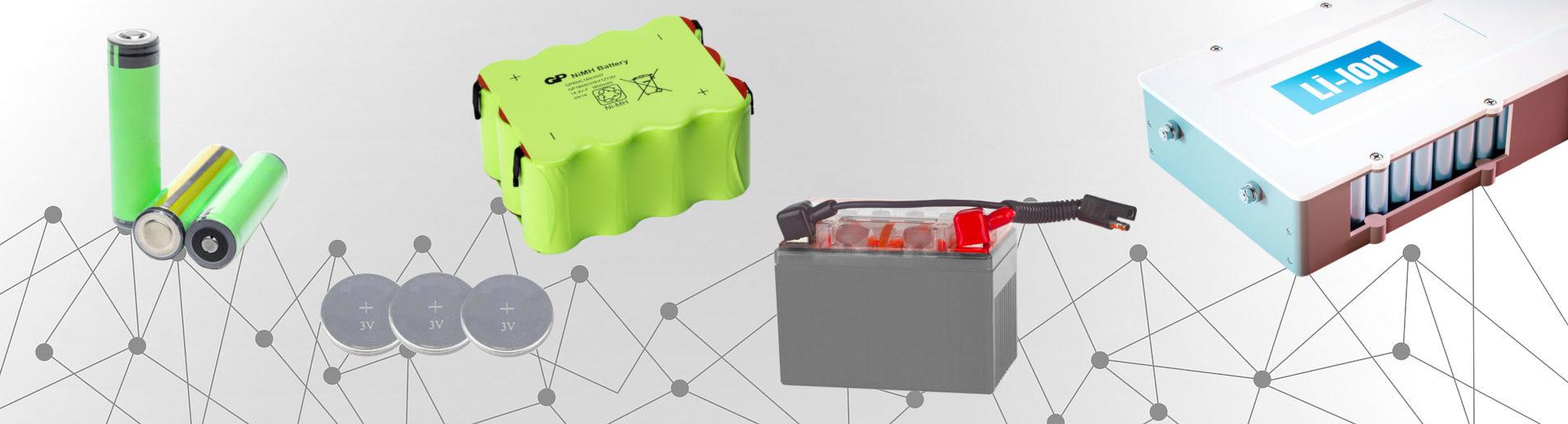 Batterie ricaricabili e primarie